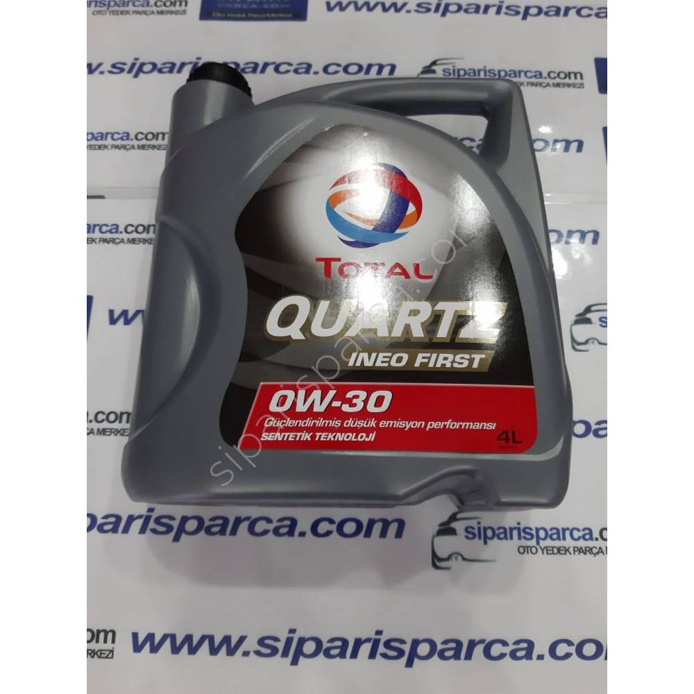 TOTAL 0W30 QUARTZ INEO FIRST MOTOR YAĞI 4 LİTRE